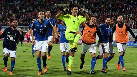 Timnas Italia. - INDOSPORT