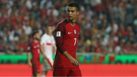 Cristiano Ronaldo di Timnas Portugal. - INDOSPORT