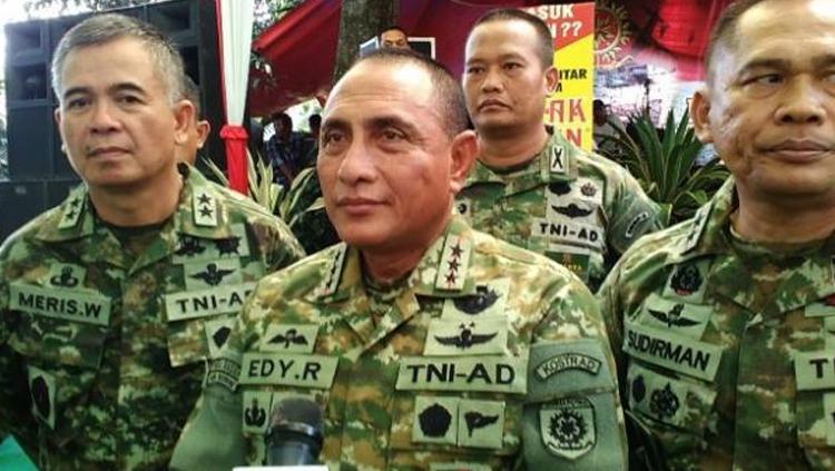 Ketua Umum PSSI, Edy Rahmayadi. Copyright: Istmewa