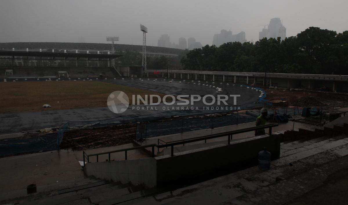 Stadion Madya menjadi salah satu venue Asian Games 2018 cabang atletik. Copyright: Herry Ibrahim/INDOSPORT