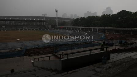 Stadion Madya menjadi salah satu venue Asian Games 2018 cabang atletik.