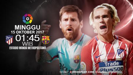 Prediksi Atletico Madrid vs Barcelona. - INDOSPORT