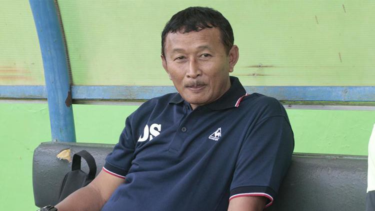 Pelatih Persiwa Wamena, Djoko Susilo Copyright: internet