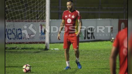 Marcel Sacramento, striker Semen Padang. - INDOSPORT