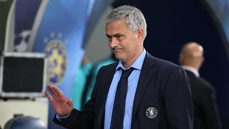 Jose Mourinho saat masih menjadi pelatih Chelsea. Copyright: INDOSPORT