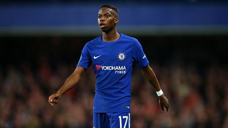 Charly Musonda Jr, gelandang serang muda milik Chelsea. Copyright: INDOSPORT