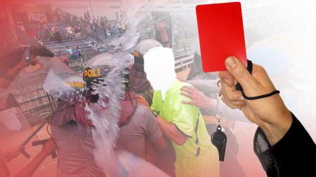 Ilustrasi Kekerasan Pada Wasit. - INDOSPORT