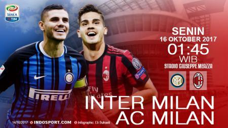 Prediksi Inter Milan vs AC Milan. - INDOSPORT