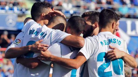 Getafe kalah 1-2 dari Real Madrid - INDOSPORT