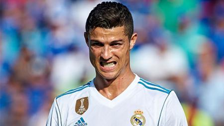 Pemain megabintang Real Madrid, Cristiano Ronaldo. - INDOSPORT