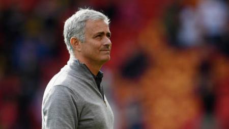 Pelatih Manchester United, Jose Mourinho. - INDOSPORT