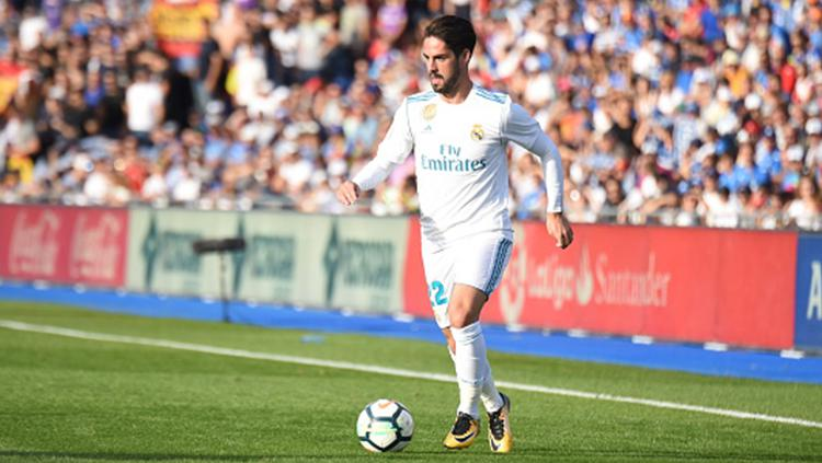 Pemain Real Madrid, Isco. Copyright: INDOSPORT