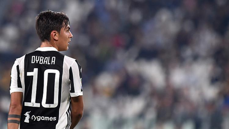 Pemain bintang Juventus, Paulo Dybala. Copyright: INDOSPORT