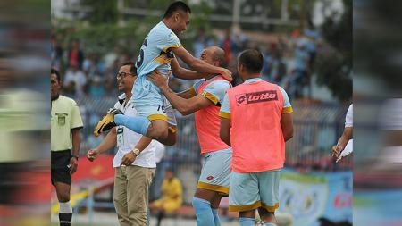 Saddil Ramdani ikut menyumbang gol saat kalahkan Semen Padang. - INDOSPORT