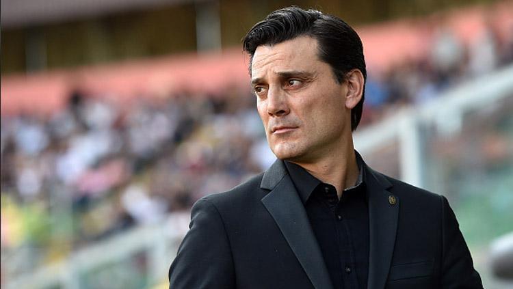 Vincenzo Montella, pelatih AC Milan. Copyright: INDOSPORT