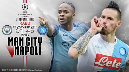 Prediksi Manchester City vs Napoli - INDOSPORT