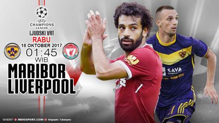 Prediksi Maribor vs Liverpool. - INDOSPORT