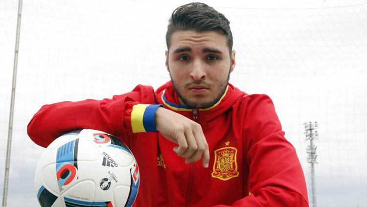 Pemain muda Barcelona, Abel Ruiz. Copyright: Sportbible.com