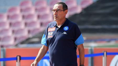 Pelatih Napoli, Maurizio Sarri. - INDOSPORT