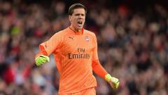 Indosport - Wojciech Szczesny saat masih membela Arsenal.