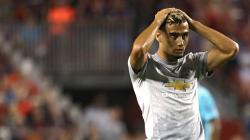 Pemain Manchester United, Andreas Pereira yang dipinjamkan ke Valencia.