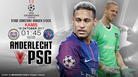 Prediksi Anderlecht vs Paris Saint-Germain - INDOSPORT