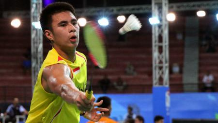 Ikhsan Leonardo Rumbay di babak tiga World Junior Championships 2017. - INDOSPORT