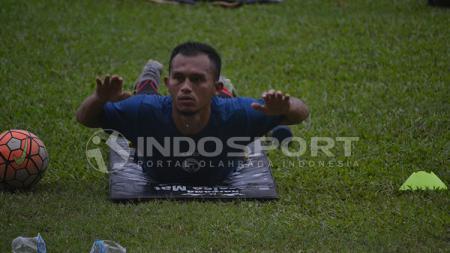 Ronggo bakal kembali diturunkan sejak menit pertama saat bertemu Arema FC. - INDOSPORT
