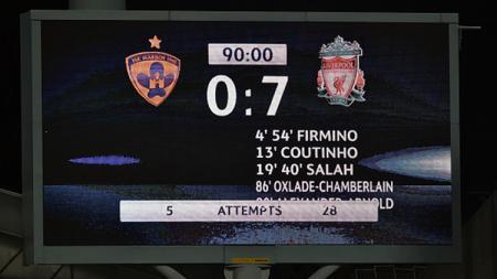 Maribor 0-7 Liverpool - INDOSPORT
