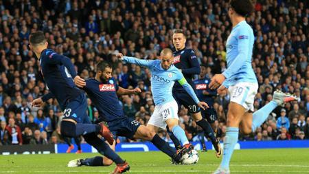Man City vs Napoli. - INDOSPORT