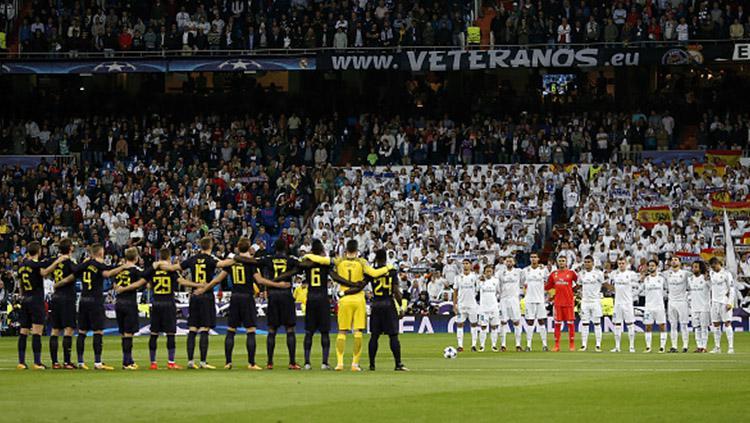 Real Madrid vs Tottenham Hotspur. Copyright: INDOSPORT