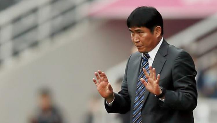 Pelatih Timnas Korea Selatan U-23,Kim Bong-gil. Copyright: koreaherald.com