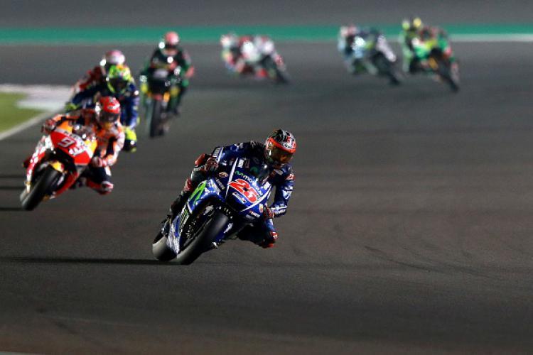 MotoGP 2017 di Doha, Qatar. Copyright: INDOSPORT