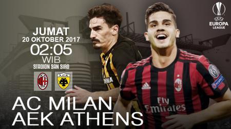 Prediksi AC Milan vs AEK Athens. - INDOSPORT