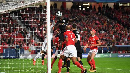 Manchester United dan Manchester City sukses meraih 3 kemenangan dari 3 kemenangan pertama fase grup Liga Champions musim ini. - INDOSPORT