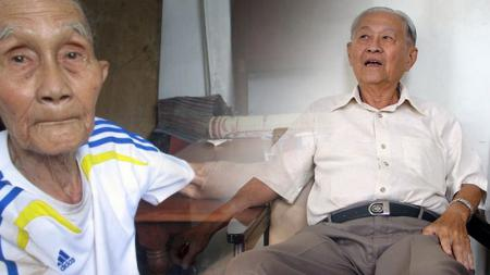 Tan Liong Houw dan Thio Him Tjiang, legenda Timnas Indonesia keturunan Tionghoa. - INDOSPORT