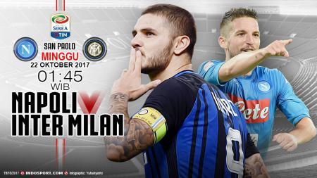 Prediksi Napoli vs Inter Milan - INDOSPORT