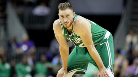 Pemain Boston Celtics, Gordon Hayward. - INDOSPORT