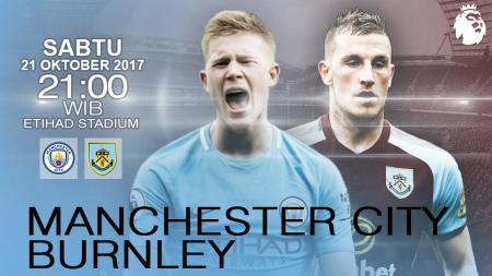 Prediksi Manchester City vs Burnley. - INDOSPORT