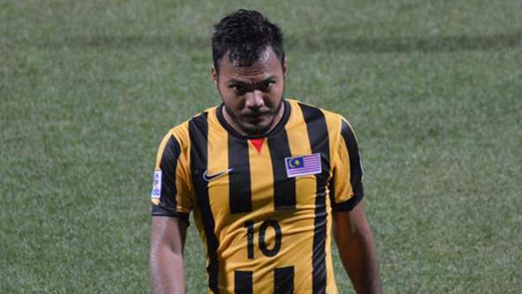 Striker Timnas Malaysia, Safee Sali. Copyright: ESPN FC