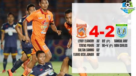 Hasil pertandingan Borneo FC vs Persela Lamongan. - INDOSPORT
