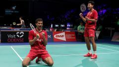 Indosport - Angga Pratama dan Ricky Karanda Suwardi, Denmark Super Series Premier 2017.