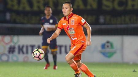 Bek Borneo FC, Arthur Irawan. - INDOSPORT
