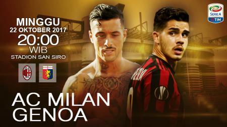 Prediksi AC Milan vs Genoa. - INDOSPORT