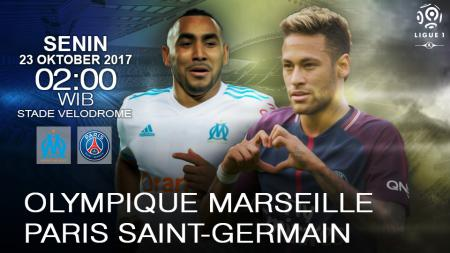 Olympique Marseille vs Paris Saint-Germain. - INDOSPORT