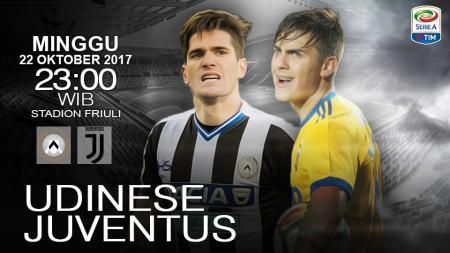 Udinese vs Juventus. - INDOSPORT