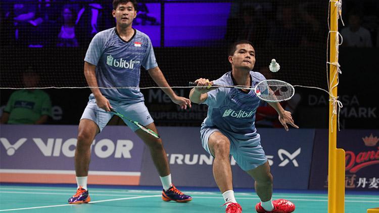 Angga Pratama/Ricky Karanda Suwardi lolos ke semifinal Denmark Terbuka 2017 Copyright: Human PBSI