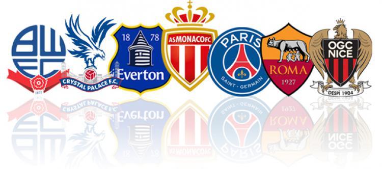 Contoh logo klub Eropa. Copyright: forza27