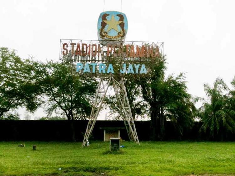 Stadion Pertamina Patra Jaya. Copyright: Internet.