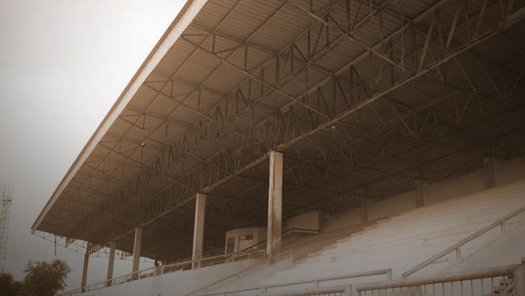 Stadion Patra Jaya. Copyright: palembangdalamsketsa